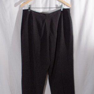 Vintage Pants & Jumpsuits - Crepe Wide Leg Trousers